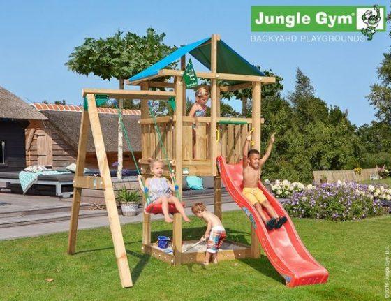 JungleGym Hut 1 Swing