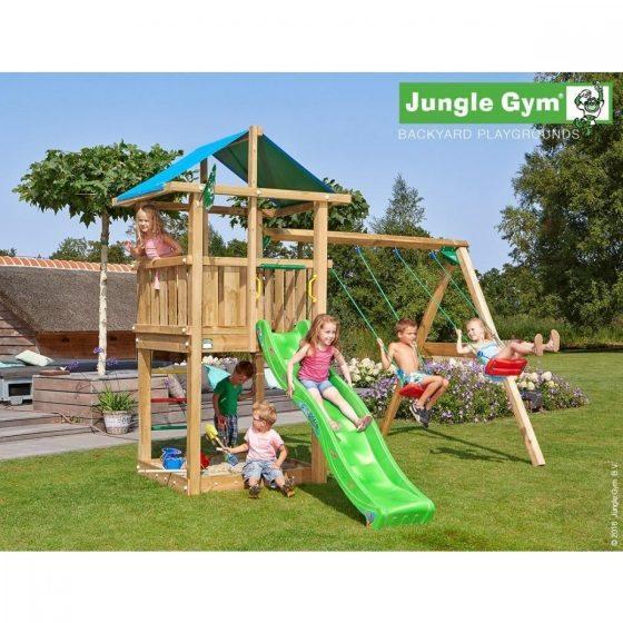 Jungle Hut 2 swing