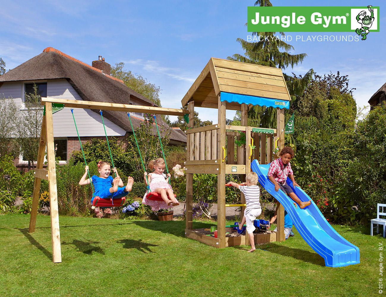 Jungle Gym Home 2 Swing Play And Sports