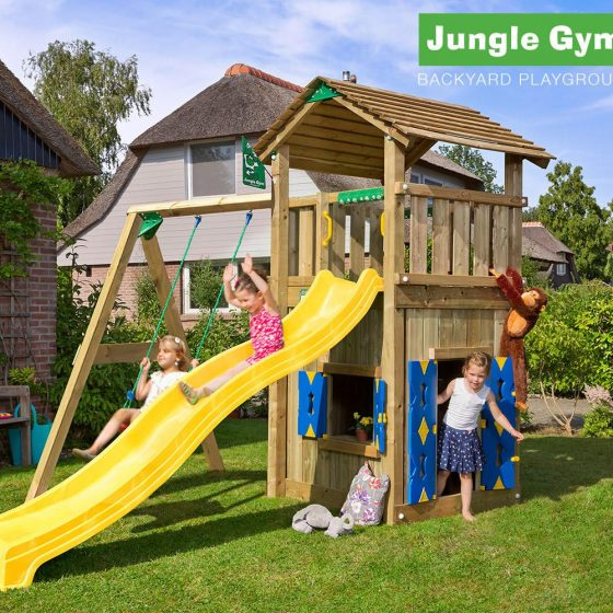 Jungle Gym wooden playground equipment