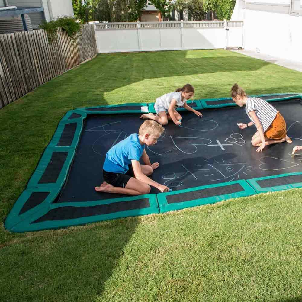 InGround Trampoline 10 x 6 ft from Play and Sports Ltd